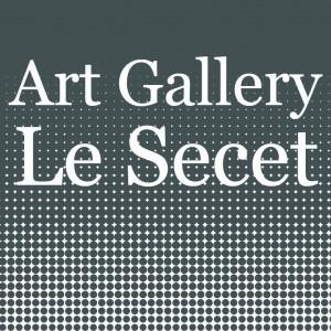 logo art gallery le secet