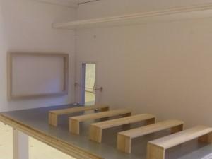Filmzaal Le Secet. Ook af te huren voor bijeenkomsten.